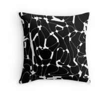 Ink Fantasy. Pattern 15 Throw Pillow