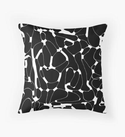 Ink Fantasy. Pattern 15 Throw Pillow