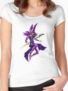 Dark Magician Women's Fitted Scoop T-Shirt