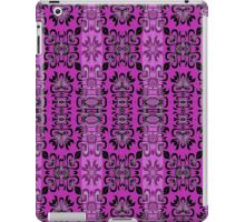 Bright Pink Surf Girl Surfboard Pattern  iPad Case/Skin