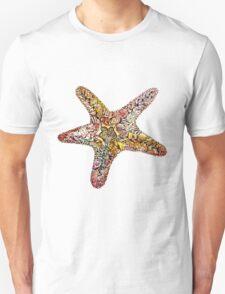 Creative watercolor starfish Unisex T-Shirt