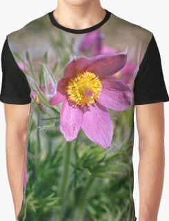 Wind flower Graphic T-Shirt
