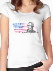 Alexander Hamilton The Musical Women's Fitted Scoop T-Shirt