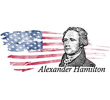 Alexander Hamilton The Musical Photographic Print