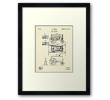 Fire Engine-1845 Framed Print