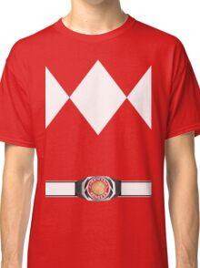 MMPR Red Ranger Uniform Classic T-Shirt