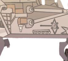 Curiosity Rover Sticker