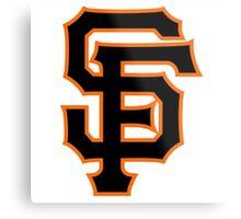 San Francisco Giants logo Metal Print
