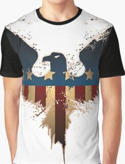 Patriotic Symbol Graphic T-Shirt