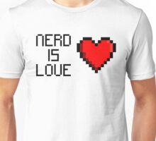 Nerd is Love (heart) Unisex T-Shirt