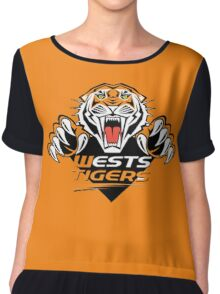 Wests Tigers  Chiffon Top