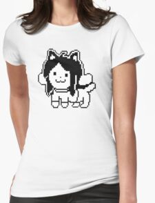 Undertale Temmie Womens Fitted T-Shirt