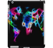 abstract world map iPad Case/Skin