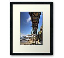 Catherine Hill Bay Jetty No.2  Framed Print