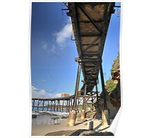 Catherine Hill Bay Jetty No.2  Poster