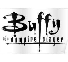 Buffy Logo Poster