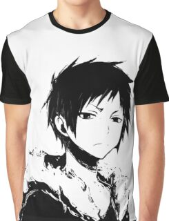 Izaya black and white Graphic T-Shirt