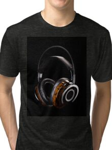 Luxurious Headphones Tri-blend T-Shirt