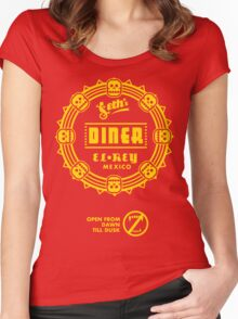 Seth's Diner, original Women's Fitted Scoop T-Shirt