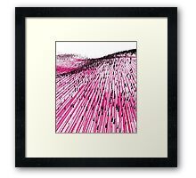 Abstract Field Framed Print