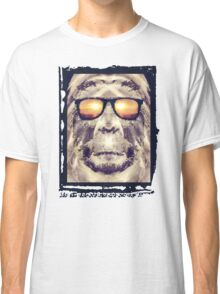 Bigfoot In Shades Classic T-Shirt