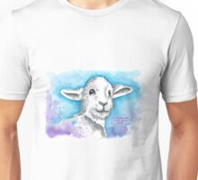 A happy Lamb is an Alive Lamb Unisex T-Shirt