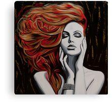 Auburn Breeze Canvas Print