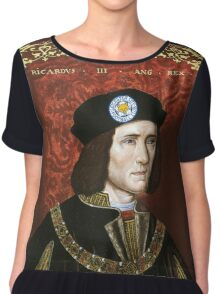 Leicester City - Richard III Chiffon Top