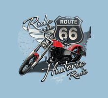 Ride the Route 66 Unisex T-Shirt