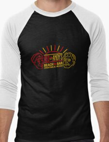Red and Andy's Beach Bar, Zihuatanejo Men's Baseball ¾ T-Shirt