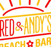 Red and Andy's Beach Bar, Zihuatanejo Sticker