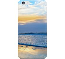 blue reflections and calm waves iPhone Case/Skin