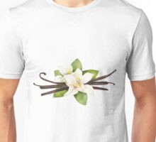 Watercolor vanilla vignettes Unisex T-Shirt