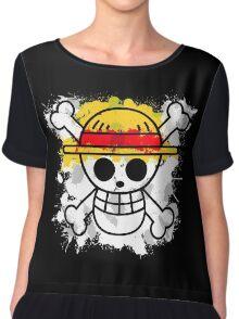 Straw Hat Pirates Chiffon Top
