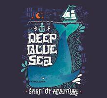 Deep blue sea. Spirit of adventure. Unisex T-Shirt