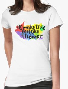 Home .queer Womens Fitted T-Shirt