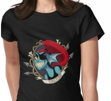 Undyne Womens Fitted T-Shirt