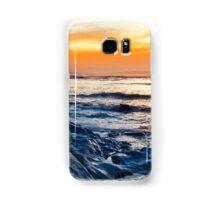 blue rocks at rocky beal beach Samsung Galaxy Case/Skin
