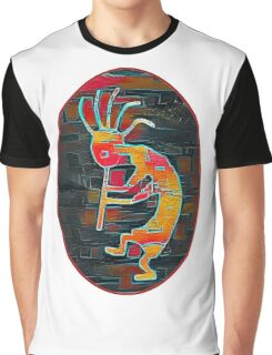 Kokopelli - Southwest Native American Icon Graphic T-Shirt