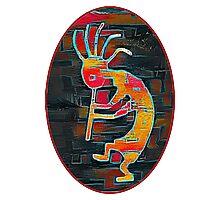 Kokopelli - Southwest Native American Icon Photographic Print