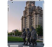 The Fab Four Walk Again iPad Case/Skin