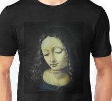 Mimic of Leonardo da Vinci's Virgin Mary Unisex T-Shirt
