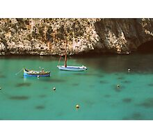 Little Boats in the Bay Photographic Print