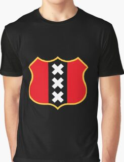 Amsterdam – Coat Of Arms Graphic T-Shirt