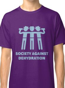 Society Against Dehydration (Lightblue) Classic T-Shirt