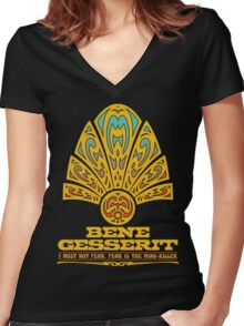 Dune BENE GESSERIT Women's Fitted V-Neck T-Shirt