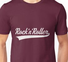 Rock 'n' Roller (White) Unisex T-Shirt
