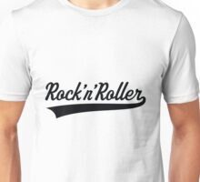 Rock 'n' Roller (Black) Unisex T-Shirt