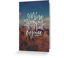 Make My Heart Rejoice Greeting Card