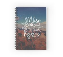 Make My Heart Rejoice Spiral Notebook